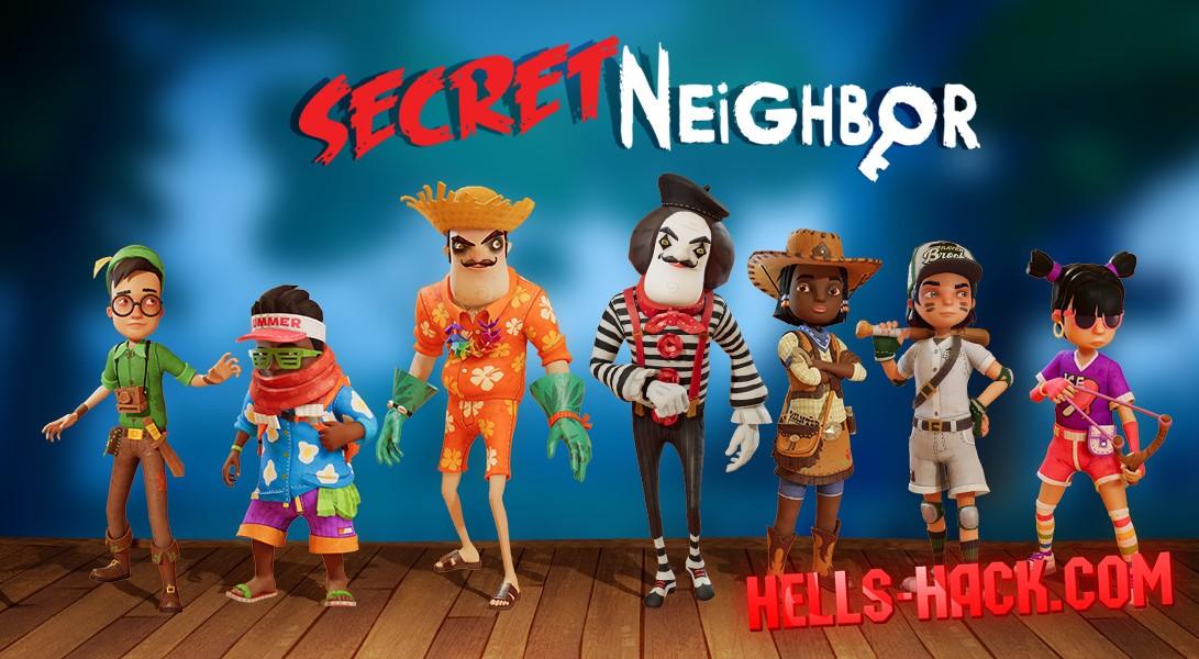 В хорроре Secret Neighbor появился редактор уровней