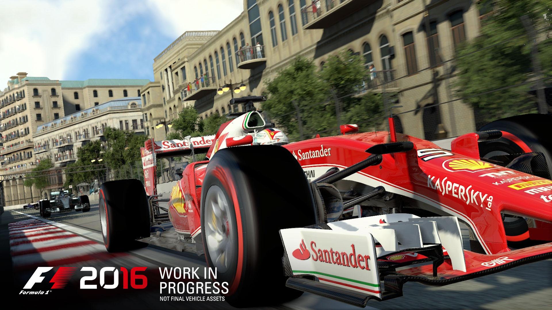 F1 2016: известна дата релиза