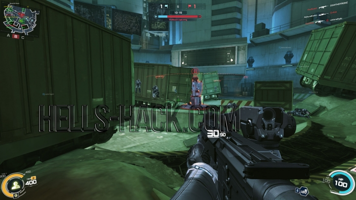 Ghost In The Shell: First Assault Multihack v1.3 (Wallhack,Unl Ammo,No Recoil) 31.12.2016