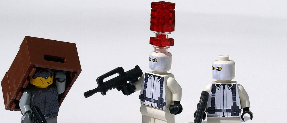 Metal Gear Solid в стиле LEGO